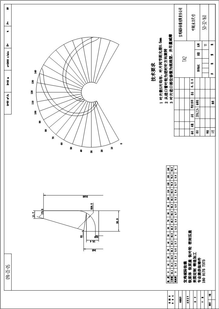鈦泵葉輪50-32-160KYL鈦葉輪鑄件水力圖-城際鈦鎳.JPG